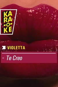 Karaoke - Violetta - Te creo