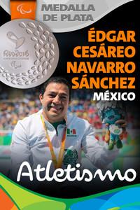 Rio 2016: Édgar Cesáreo Navarro Sánchez (México) Plata en Atletismo.