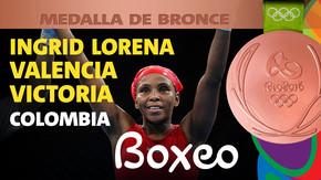 Rio 2016: Ingrid Lorena Valencia Victoria (Colombia) Bronce en Boxeo