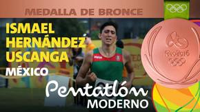 Rio 2016: Ismael Hernández Uscanga (México) Bronce en Pentatlón Moderno
