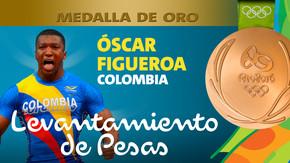 Rio 2016: Oscar Albeiro Figueroa Mosquera (Colombia) Oro  Levantamiento de pesas