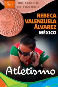 Rio 2016: Rebeca Valenzuela Álvarez (México) Bronce en Atletismo