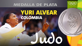 Rio 2016: Yuri Alvear (Colombia) Plata en Judo